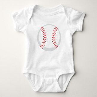 Mono de encargo del jersey del bebé del béisbol