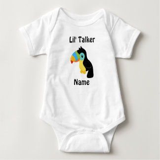 Mono de encargo del jersey del bebé del transmisor