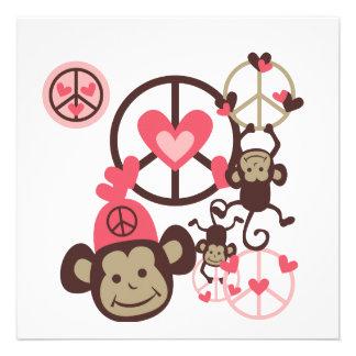 Mono de la paz comunicado personal