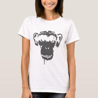 Mono de la pintada camiseta