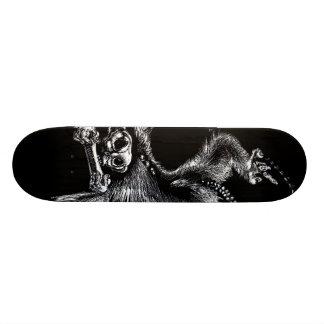 Mono de los Undead con la armónica Monopatin Personalizado