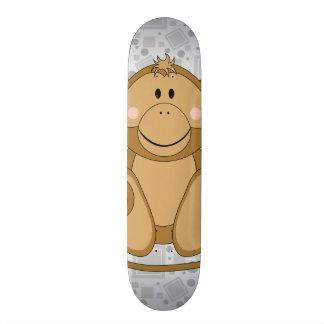 Mono de oro de Cutelyn Patineta Personalizada