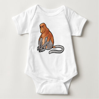 Mono de probóscide body para bebé