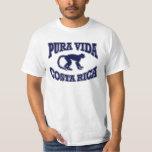 Mono de Pura Vida Costa Rica Camiseta