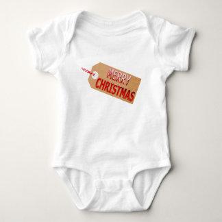 Mono del bebé de la etiqueta del regalo de las body para bebé