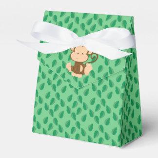 Mono del bebé de los animales el | del safari cajas para detalles de boda