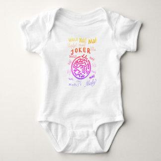 Mono del bebé del Mah Jongg Body Para Bebé