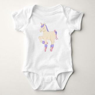 Mono del bebé del unicornio del ballet body para bebé