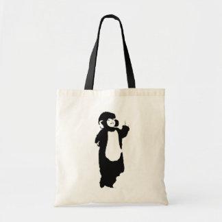 Mono del boda bolsa tela barata