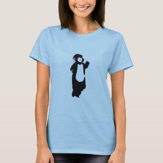 Mono del boda camiseta