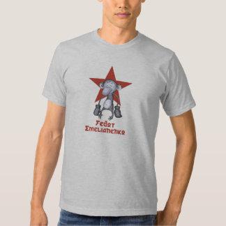 Mono del boxeo de Fedor Camiseta