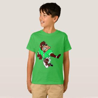 Mono del fútbol camiseta