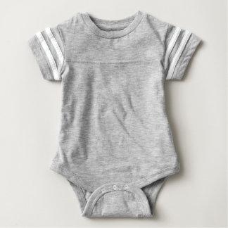 Mono del fútbol del bebé body para bebé
