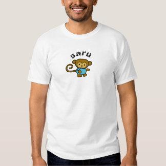 Mono del japonés de Saru Camisetas