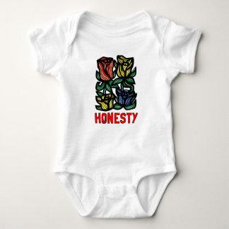 """Mono del jersey del bebé de la """"honradez"""""""