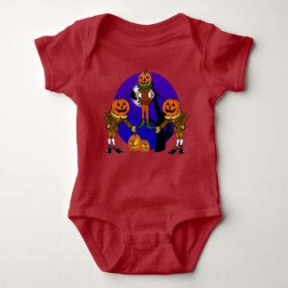 Mono del jersey del bebé de los espantapájaros