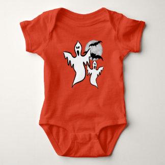 Mono del jersey del bebé de los fantasmas