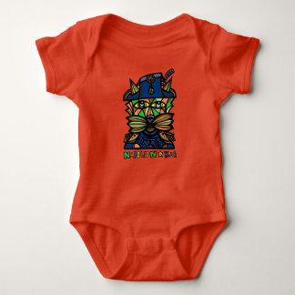 """Mono del jersey del bebé de """"Napoleon Kat"""""""