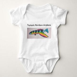 Mono del jersey del bebé del aeroplano del arco