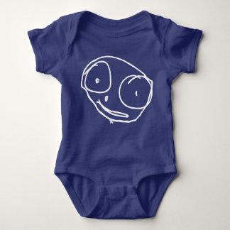 mono del jersey del bebé del bigHEAD