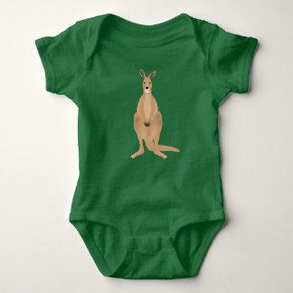 Mono del jersey del bebé del canguro