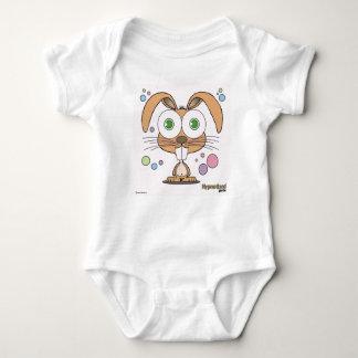 Mono del jersey del bebé del conejito