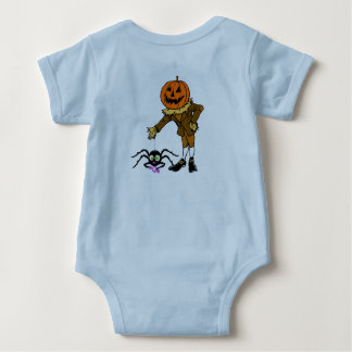 Mono del jersey del bebé del espantapájaros