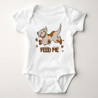 Mono del jersey del bebé del perro