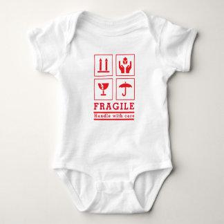 """Mono del jersey del cuidado del bebé """"dirija con"""""""