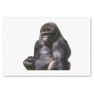 Mono del mono del gorila papel de seda