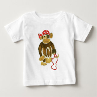 Mono del pirata camisas