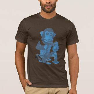 Mono del platillo camiseta
