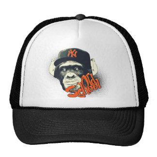 Mono del swag de la escuela vieja gorras
