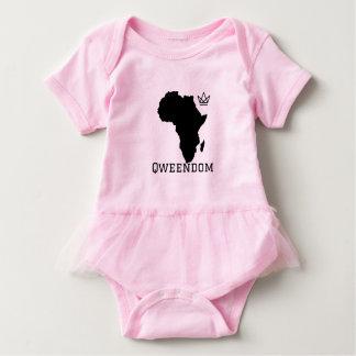 Mono del tutú de Qweendom del bebé Body Para Bebé