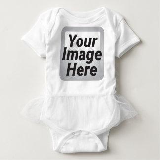 Mono del tutú del bebé body para bebé