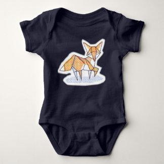 Mono del zorro de Origami Body Para Bebé