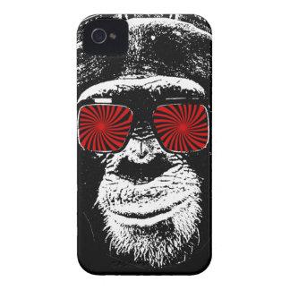 Mono divertido funda para iPhone 4