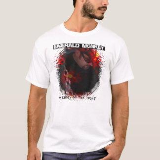"""Mono esmeralda """"héroes camiseta de la noche"""""""