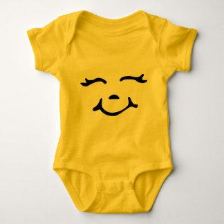 Mono feliz del bebé body para bebé
