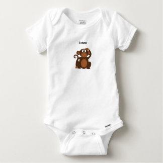 Mono fresco personalizado body para bebé