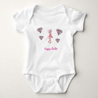 Mono guarro del bebé del ballet body para bebé