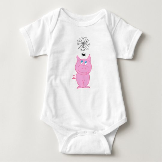 Mono guarro del jersey del bebé del Web