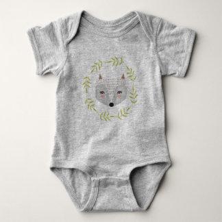 Mono hecho frente astuto del jersey del bebé