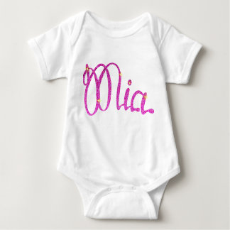 Mono Mia del jersey del bebé