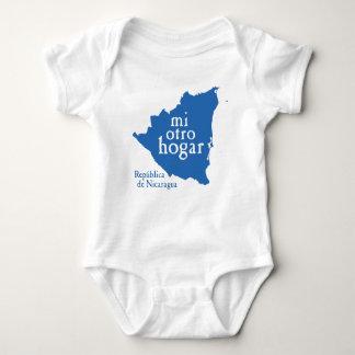 Mono NICARAGUA del jersey del bebé
