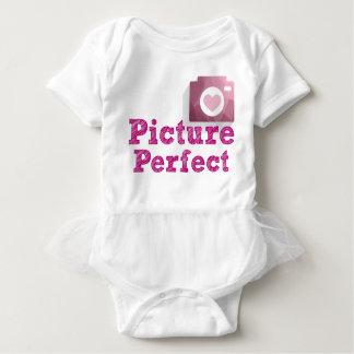 Mono perfecto del tutú de la imagen body para bebé