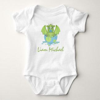 Mono personalizado del jersey del dragón del bebé