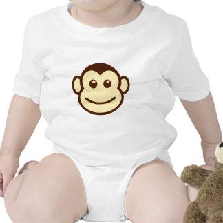 Mono precioso adorable lindo trajes de bebé