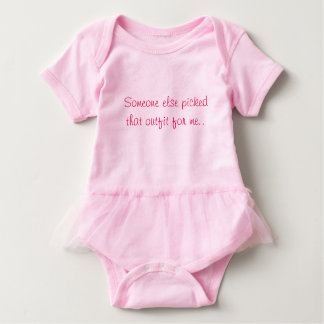 Mono rosado de la niña body para bebé