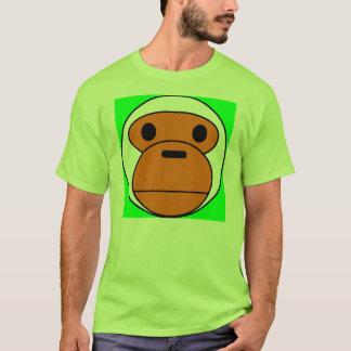 Mono verde camiseta